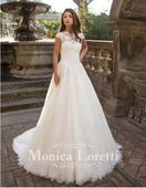 Svadobne saty Monica Loretti ZLAVA DO 340 EUR, 36
