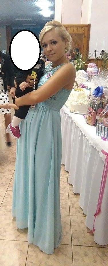 Svetlo modré šaty - Obrázok č. 1