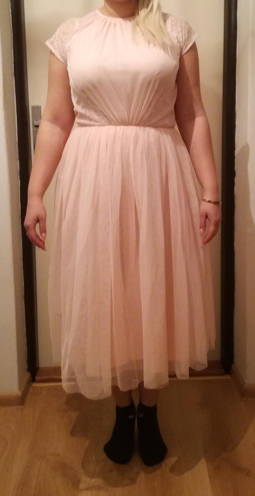 Staroružovē šaty veľkosti 10 - Obrázok č. 1