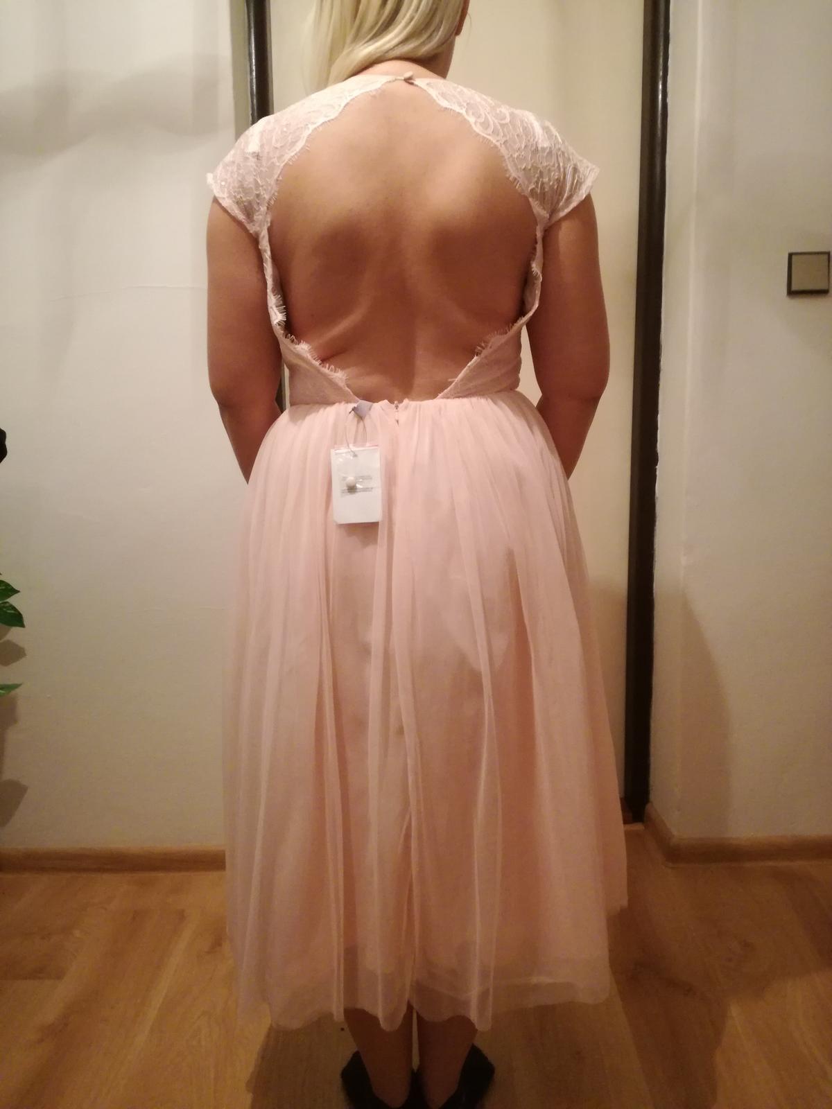 Staroružovē šaty veľkosti 10 - Obrázok č. 2