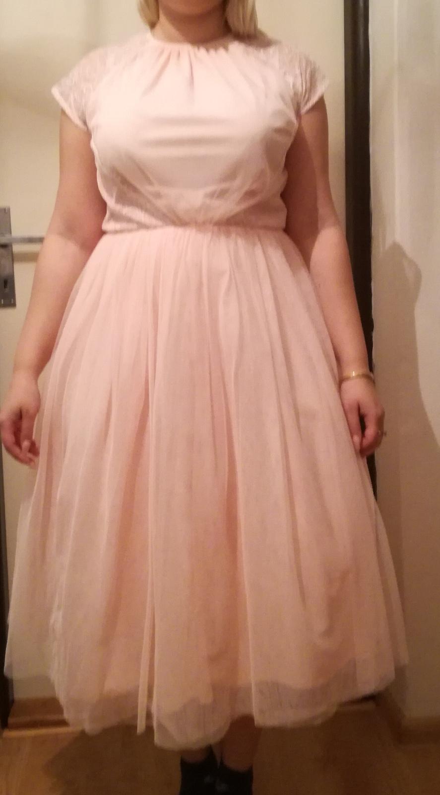 Staroružovē šaty veľkosti 10 - Obrázok č. 3