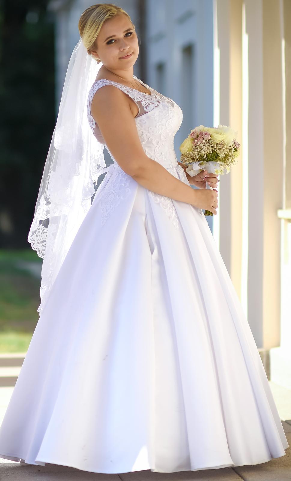 Svadobné šaty veľkosť 40 - Obrázok č. 2