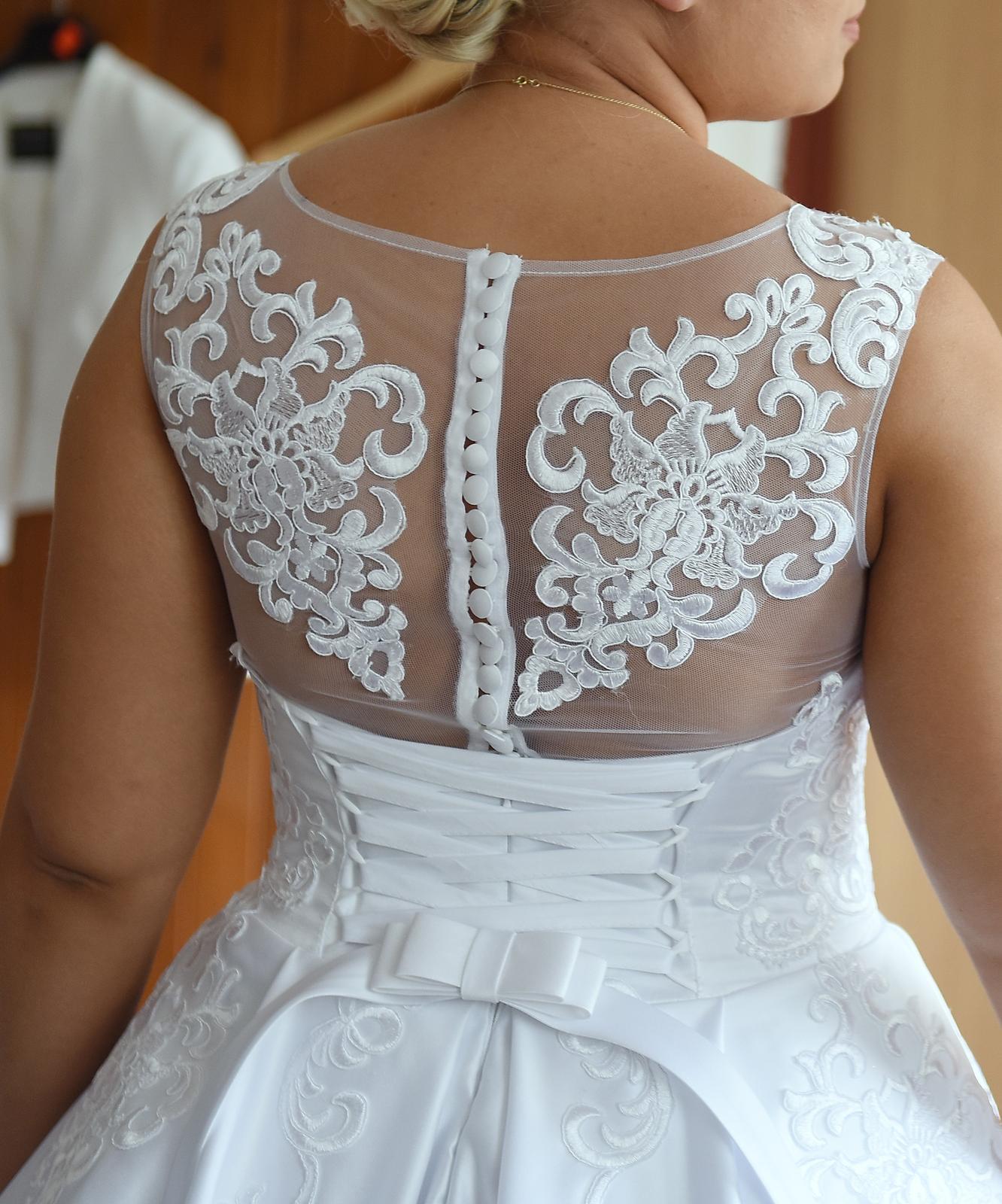 Svadobné šaty veľkosť 40 - Obrázok č. 4