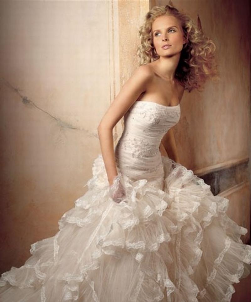 Svadobné šaty originál Pronovias - Obrázok č. 1