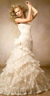 Svadobné šaty originál Pronovias - Obrázok č. 2