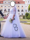Svatební šaty, vel. 38-40, 40