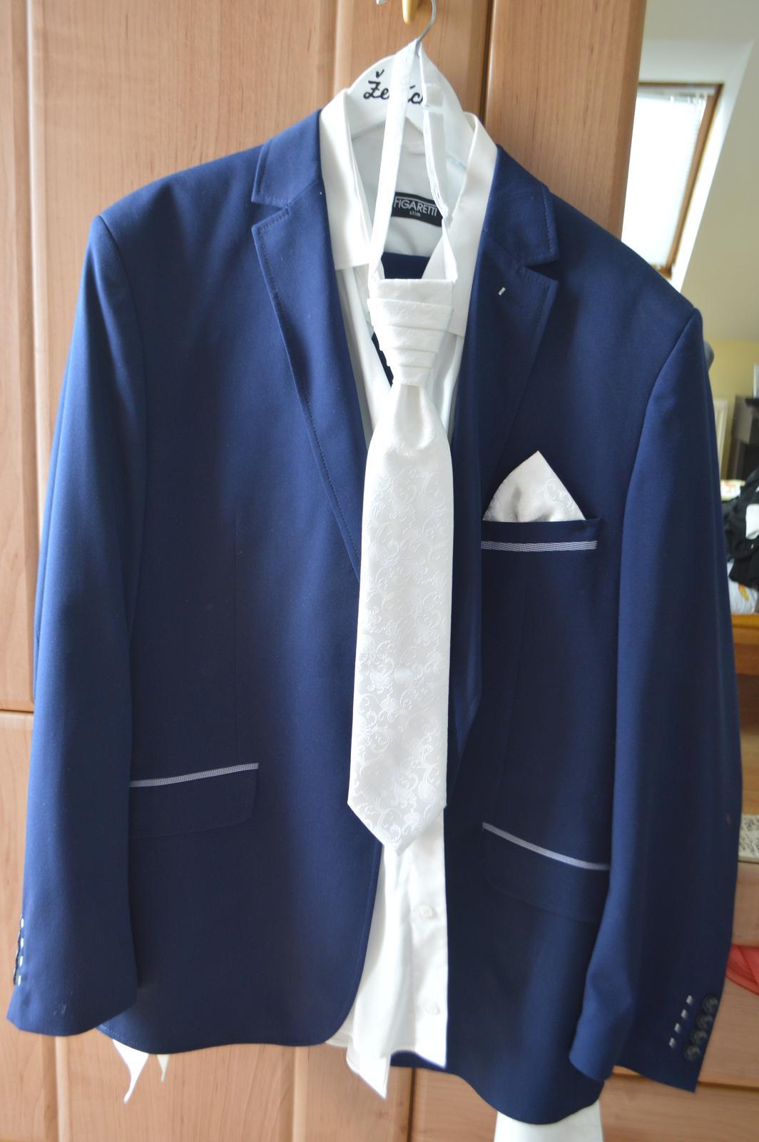 Pánska svadobná košeľa - Obrázok č. 1
