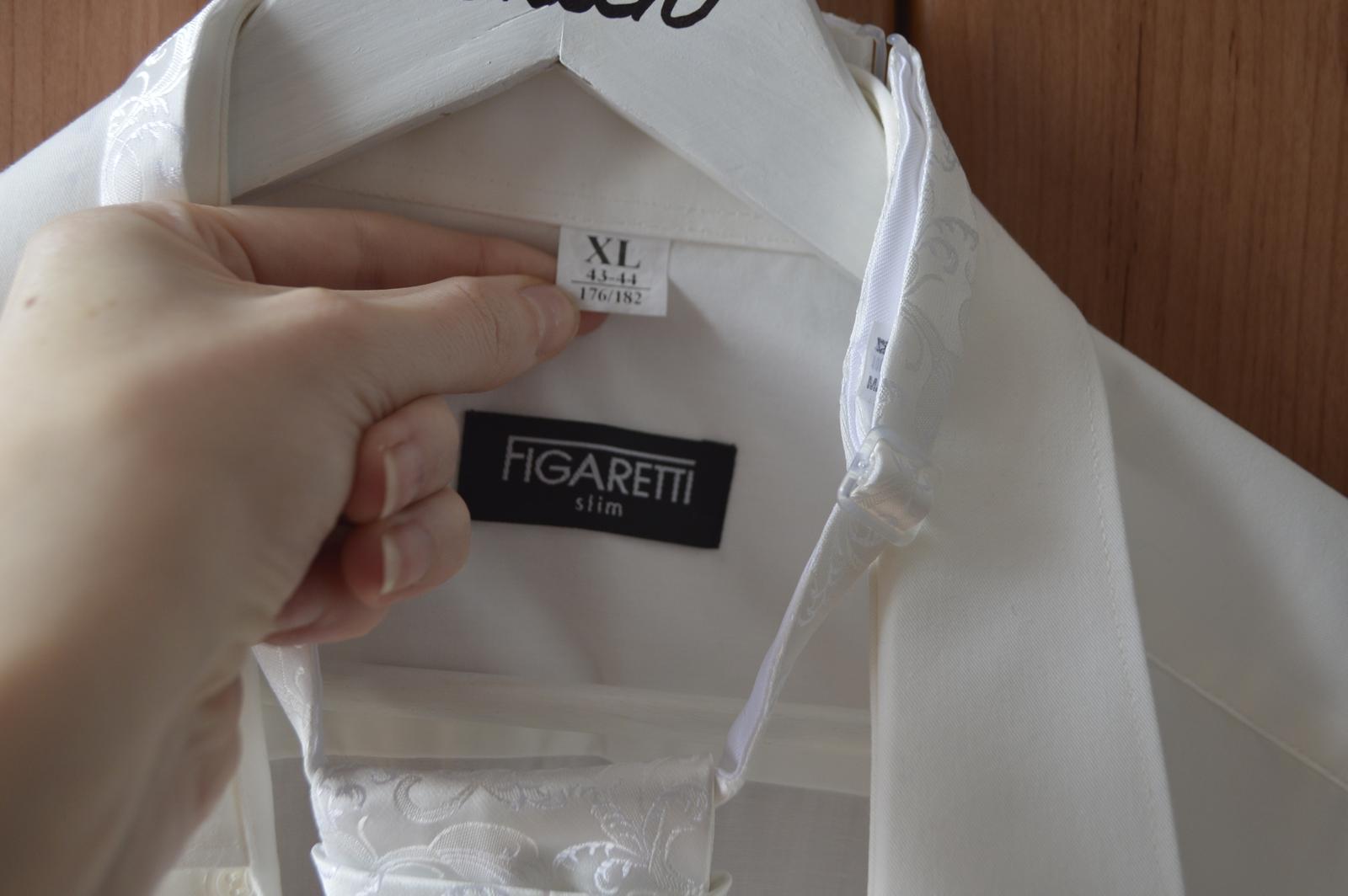 Pánska svadobná košeľa - Obrázok č. 2