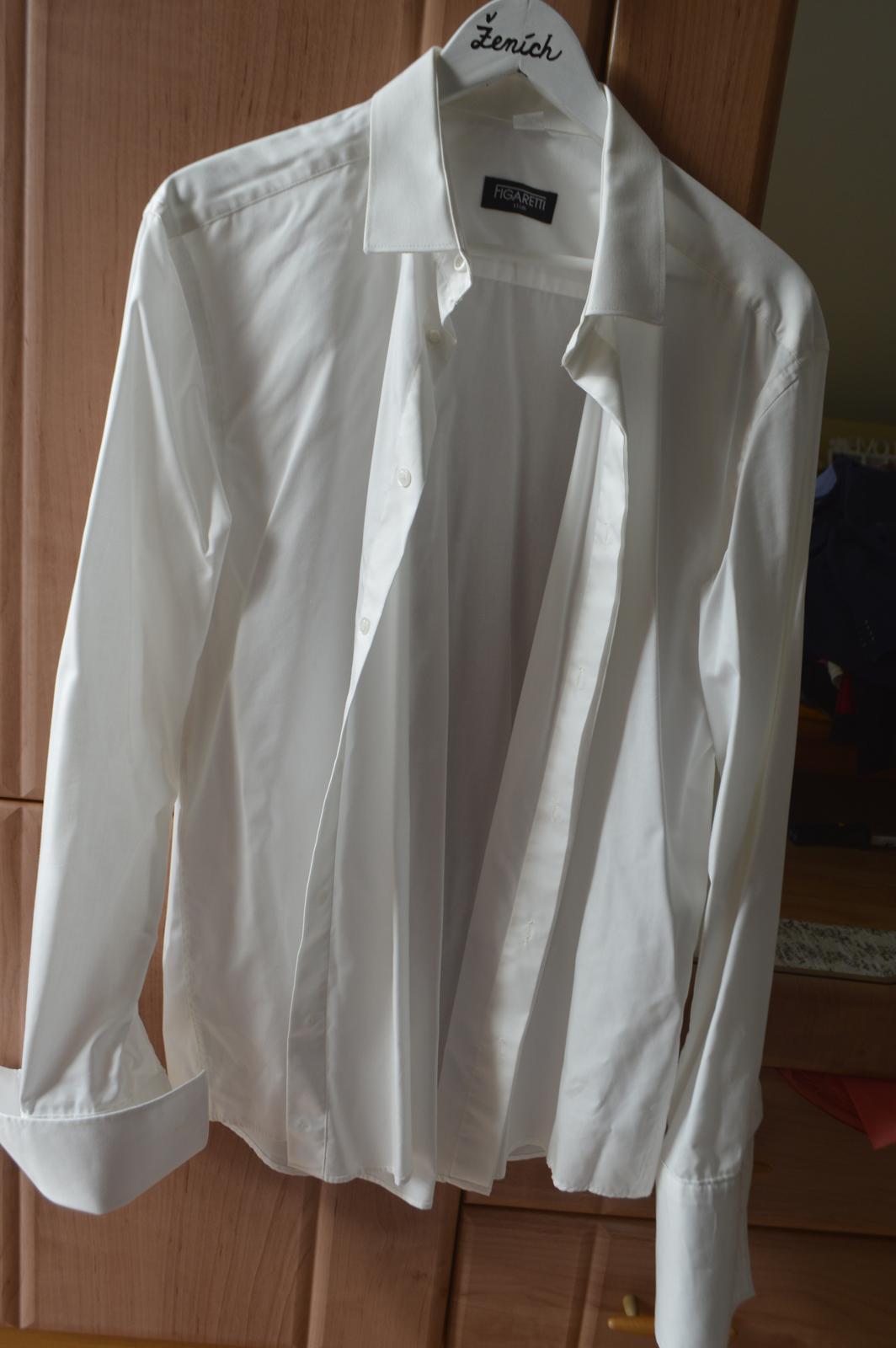 Pánska svadobná košeľa - Obrázok č. 4