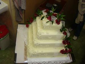 Tak takový dort zvládne udělat má známá:)