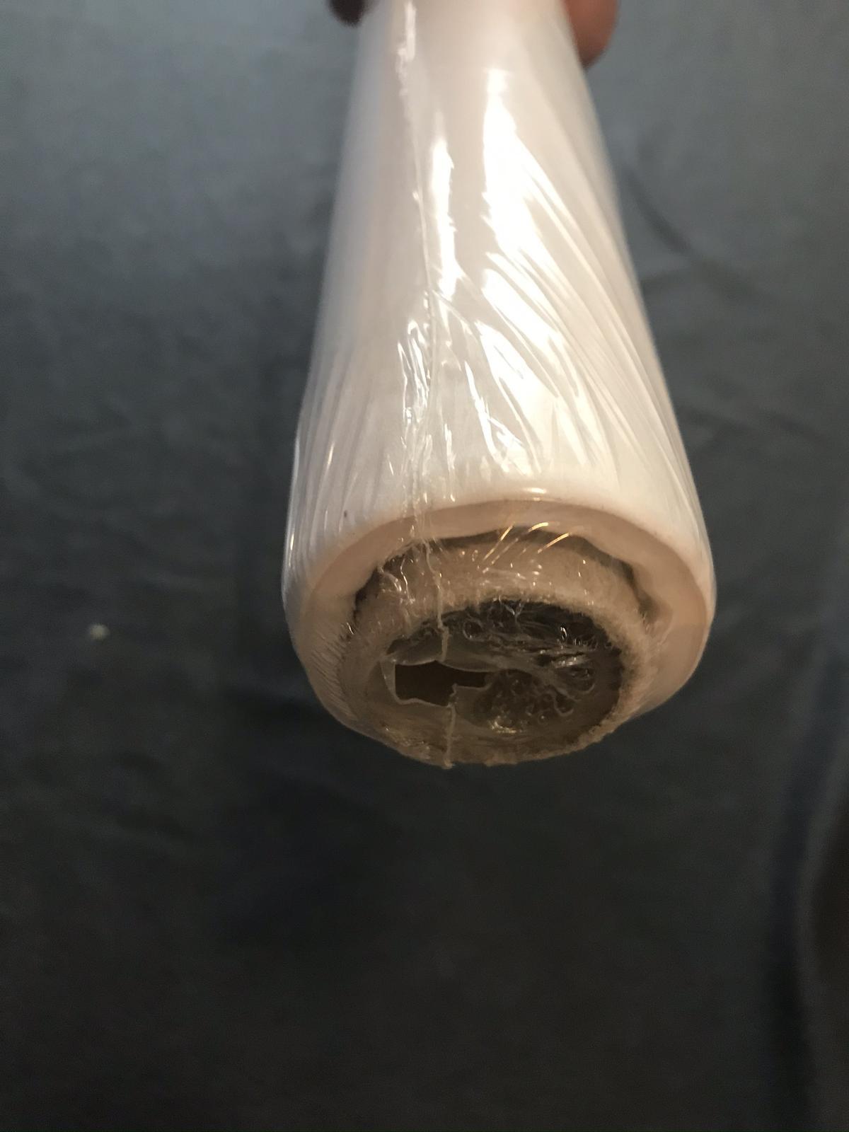 Papírový ubrus bílý (1,25 m x 5 m) - Obrázek č. 1