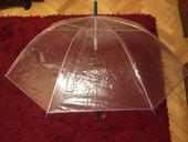 Průhledný deštník, svatba,