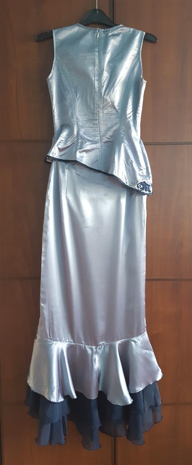 Plesové šaty ručně vyšívané dle japonského stylu - Obrázek č. 2