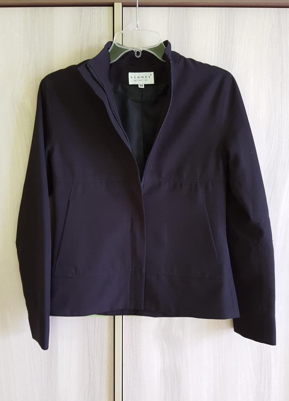 Elegantní černá bunda s podšívkou  - Obrázek č. 1