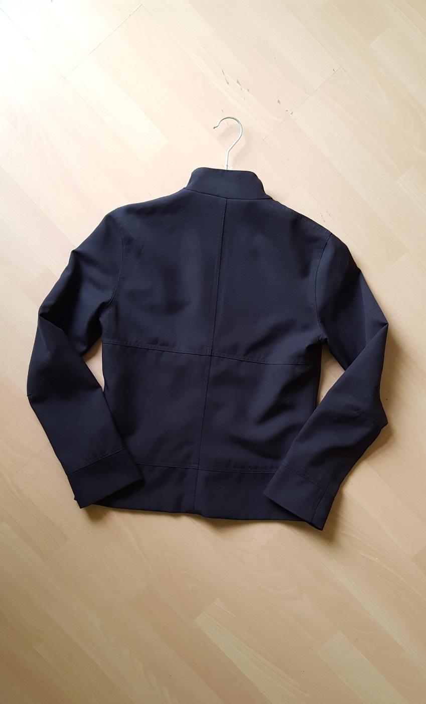 Elegantní černá bunda s podšívkou  - Obrázek č. 3