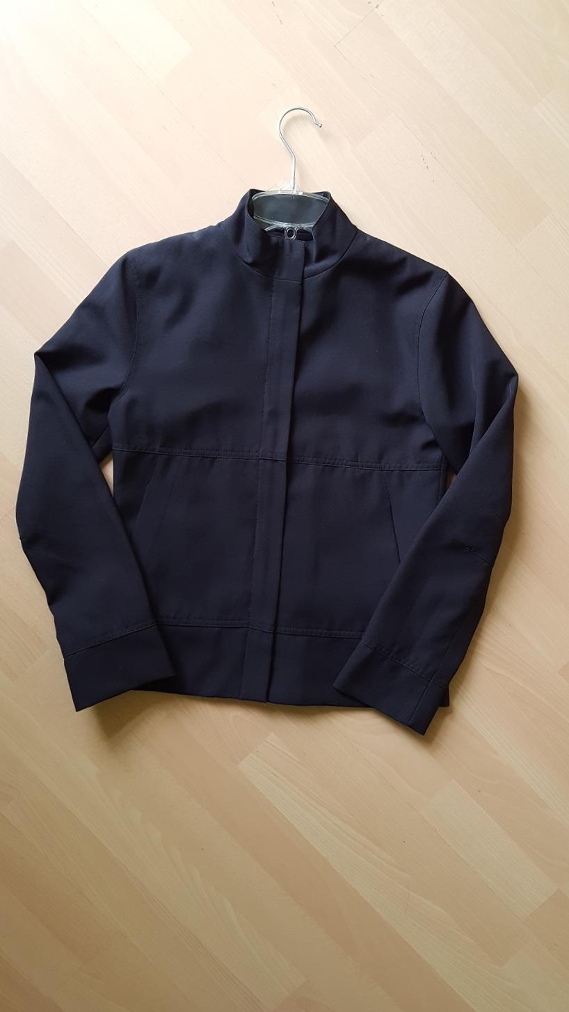Elegantní černá bunda s podšívkou  - Obrázek č. 4