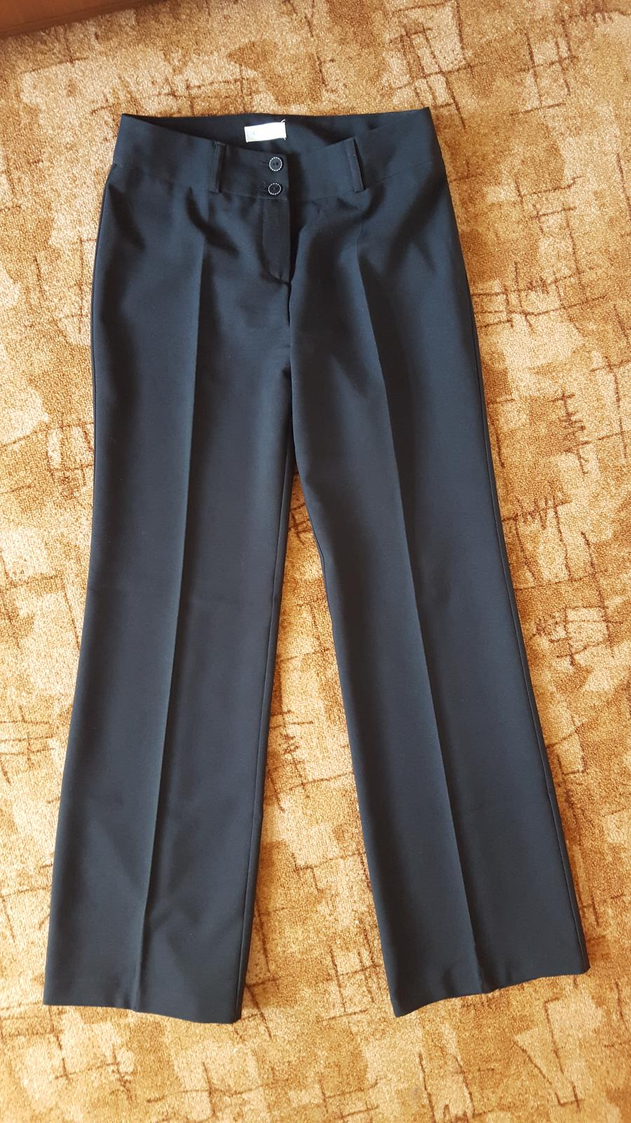 Společenské černé kalhoty s puky zn. Orsay - Obrázek č. 1
