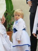 šaty pro malou družičku vel.98-110, 104