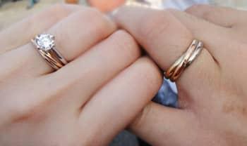 Nasa inspiracia. Trinity prstene znamenaju vernost, lasku a priatelstvo.
