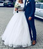 Svadobné šaty značky Armonia, 36