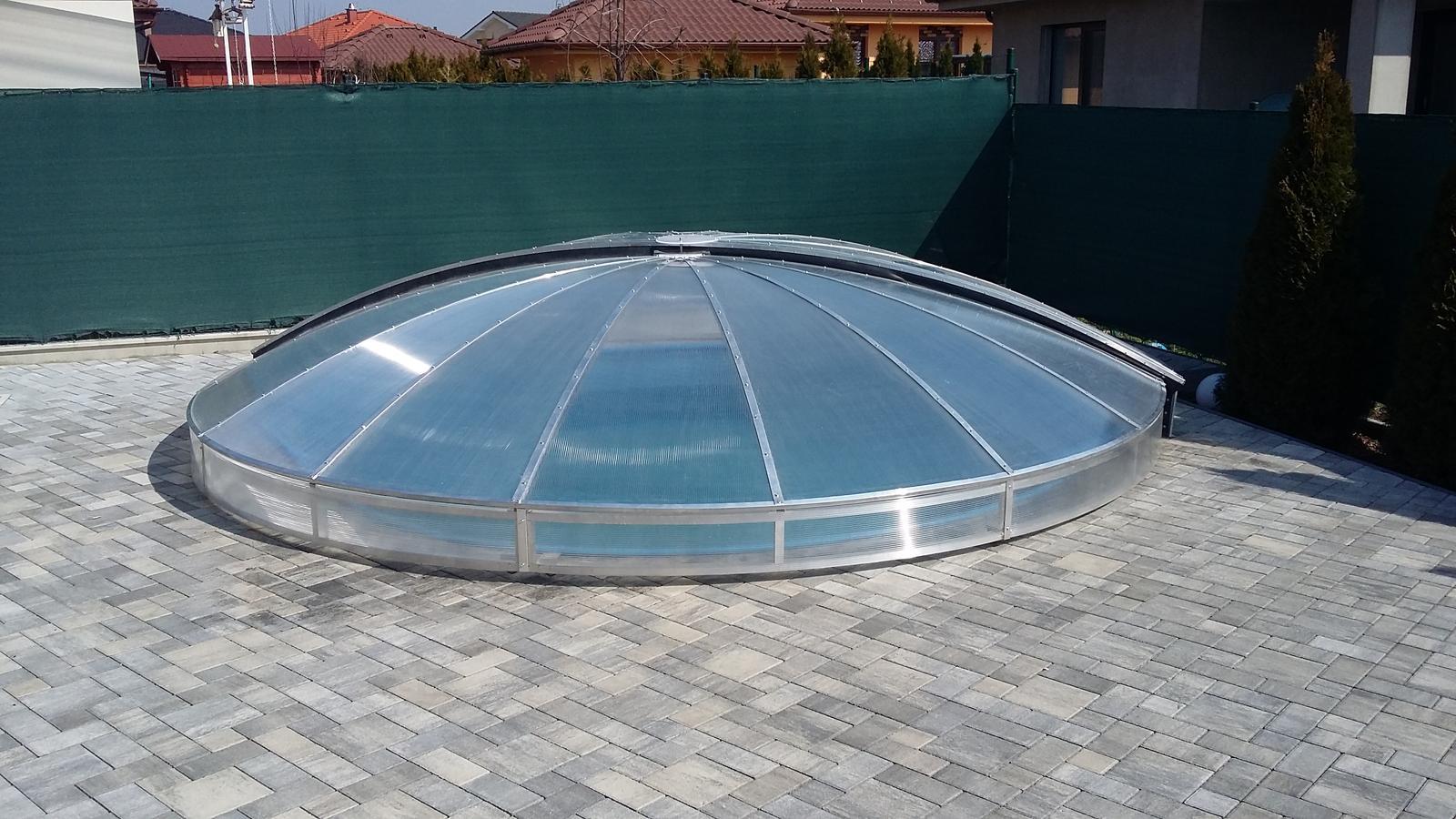 Prekrytie kruhového bazéna - Obrázok č. 2