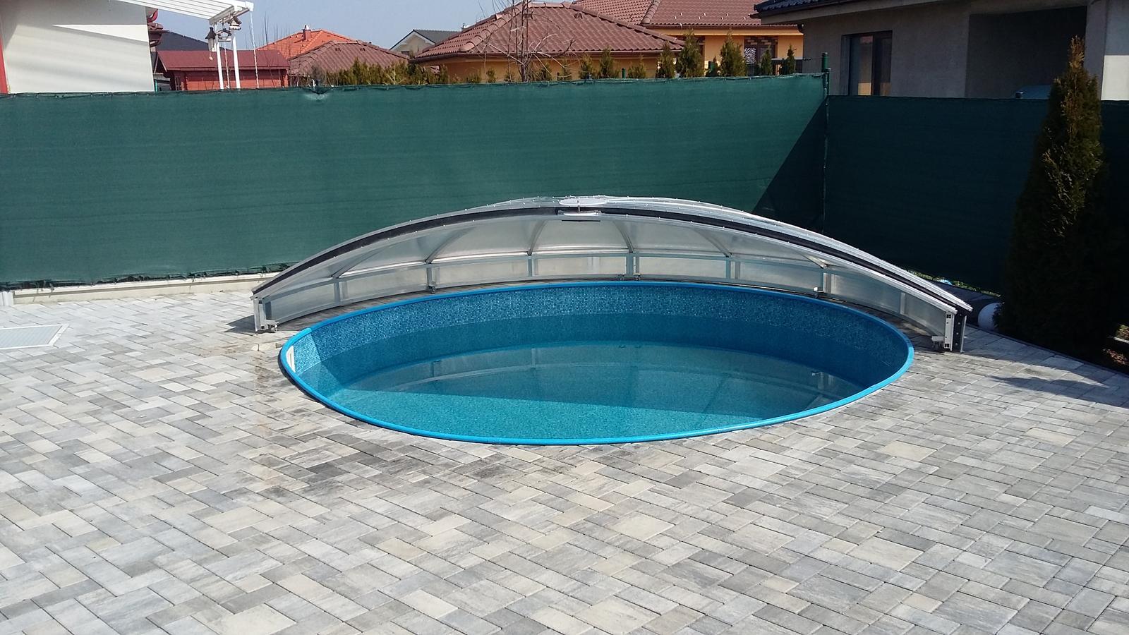 Prekrytie kruhového bazéna - Obrázok č. 3