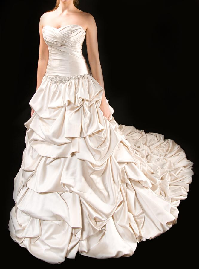 Korzetové svatební šaty  - Obrázek č. 1