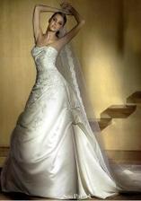 Krásne svadobné šaty