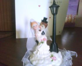 soška na tortu