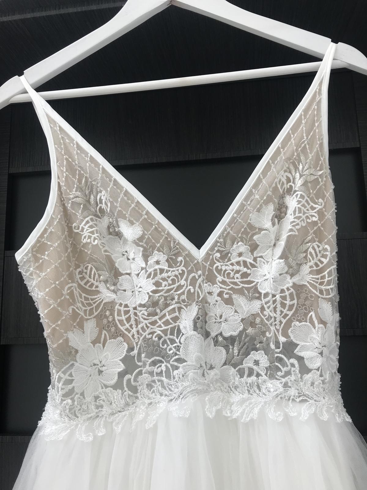 Boho svatební šaty - Obrázek č. 2