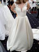 Svadobné šaty Marina s možnosťou úpravy na mieru, 40