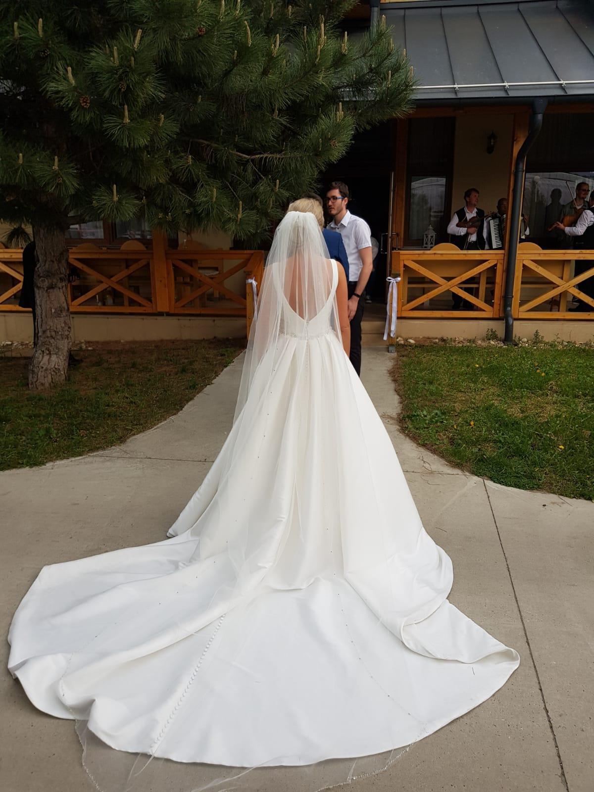 POIRIER svadobný závoj - Obrázok č. 1
