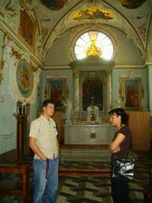 kaple kde bude obřad..fotečka je ze svatby milionové nevěsty...