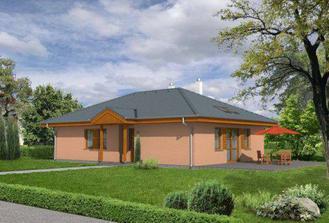 ak všetko klapne, v máji už budeme majitelia tohoto domčeka:-)  Len strecha bude klasická oranžová škridla, okná a podbitie plastové a farba asi žltá :-)