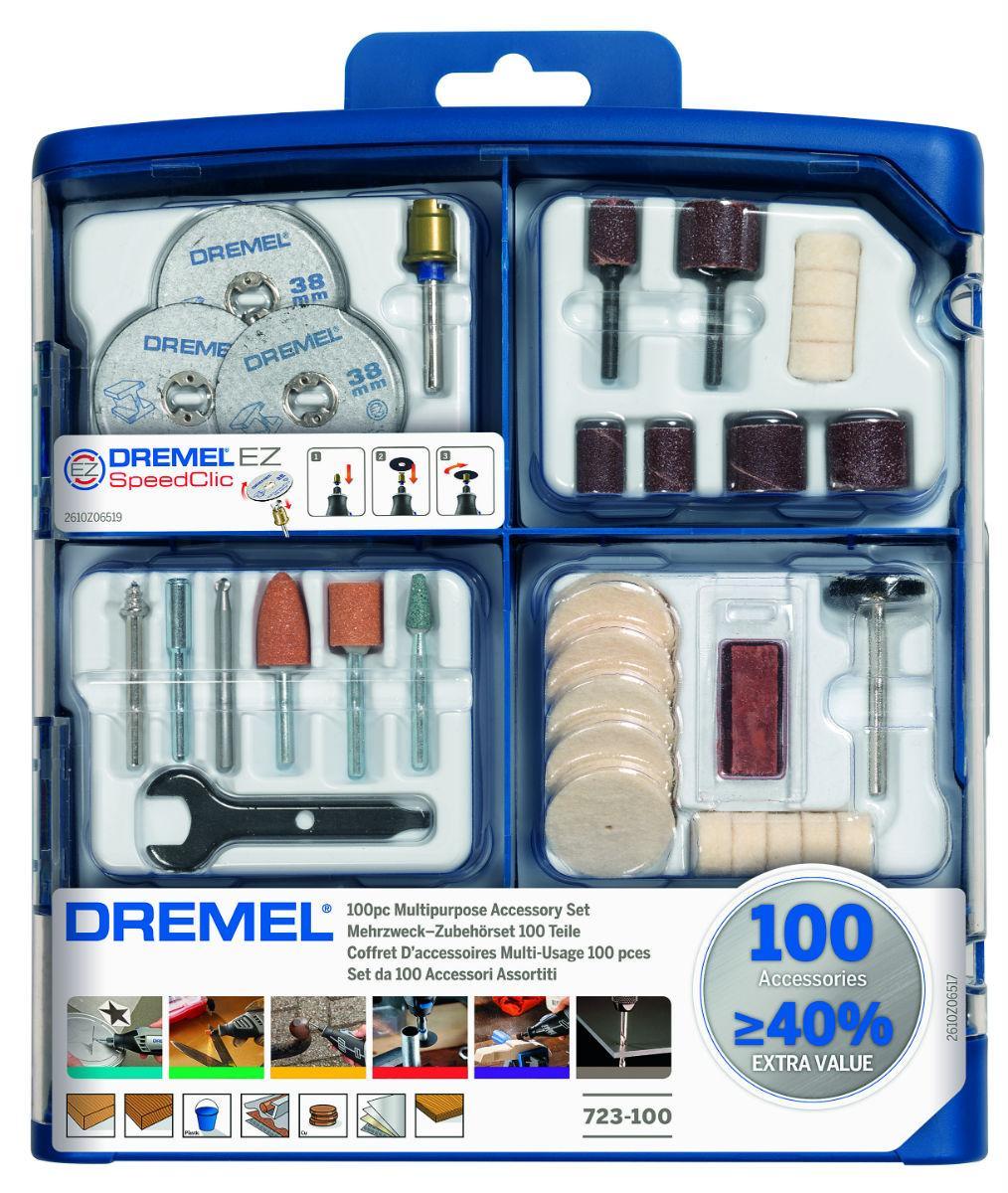 100-dielna univerzálna modulárna súprava DREMEL 723 - Obrázok č. 1
