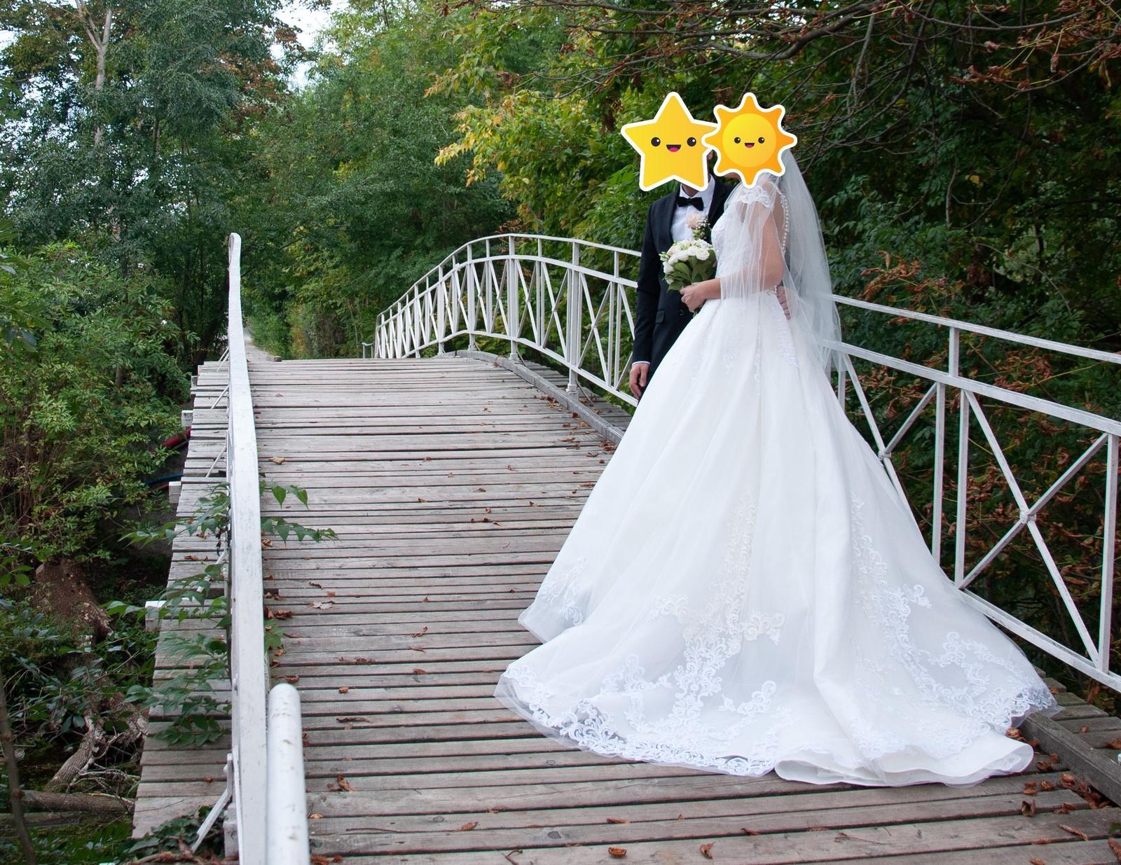 Svadobné šaty Eva Grandes - Obrázok č. 3