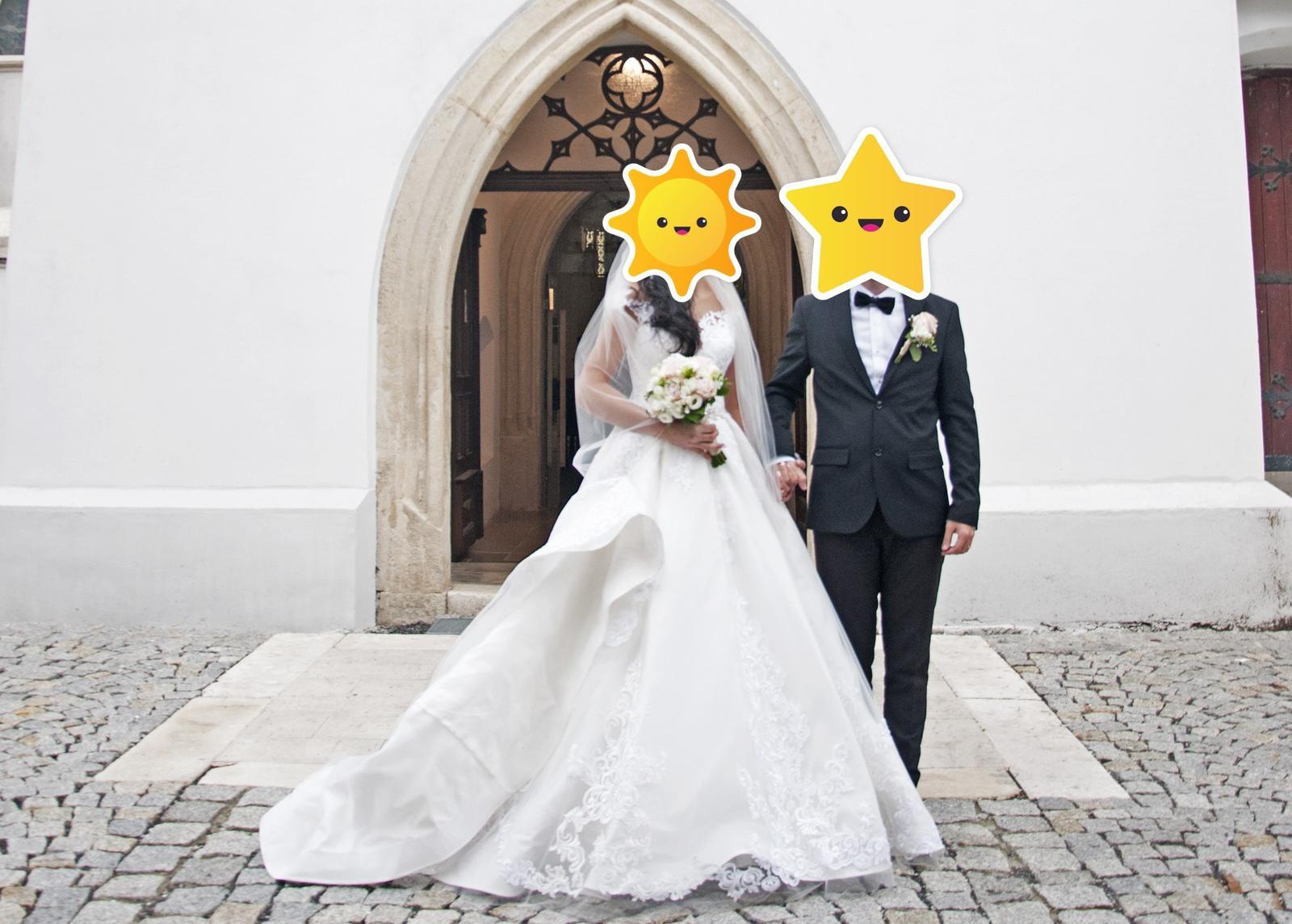 Svadobné šaty Eva Grandes - Obrázok č. 4