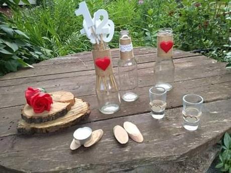 Svadobná výzdoba na stoly - Obrázok č. 1