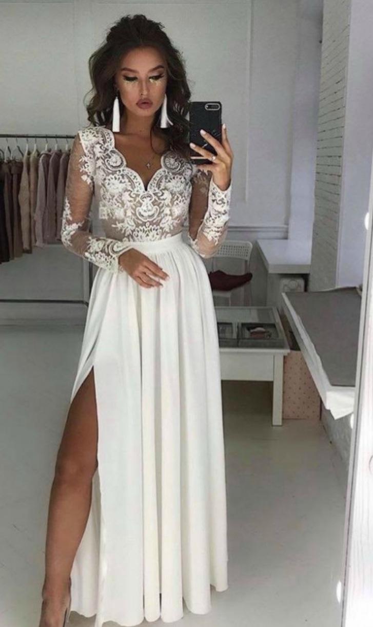 spoločenské/svadobné šaty - Obrázok č. 1