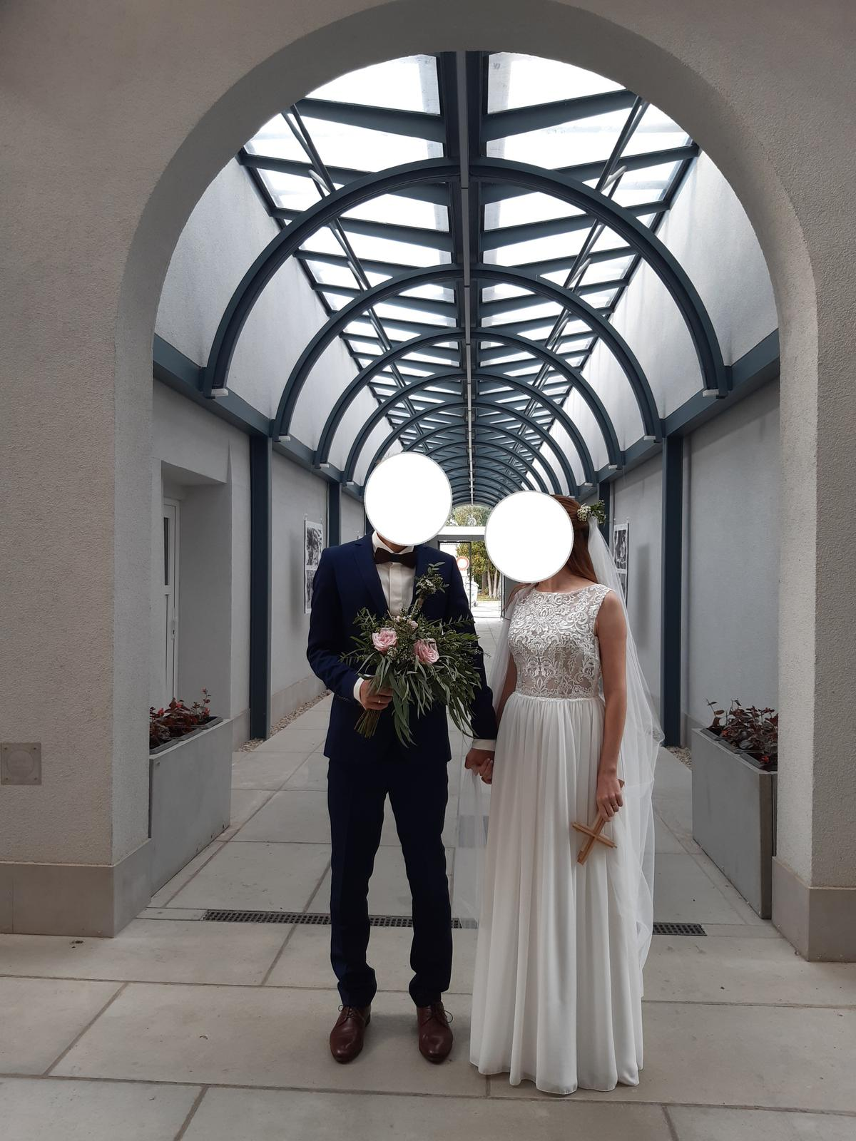Boho svadobné šaty - Obrázok č. 1