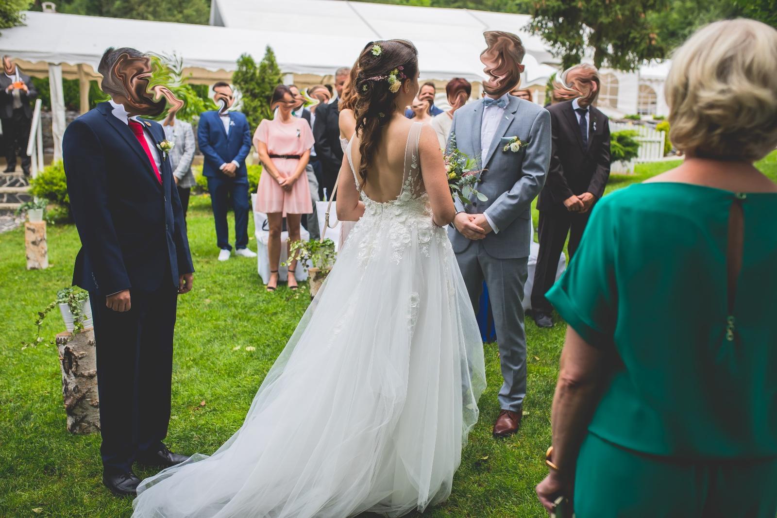 Svatební šaty Elody - Obrázek č. 1