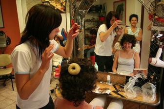 Marfuška u kadeřnice..:)