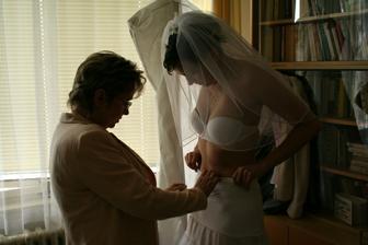 Oblékání s mamkou