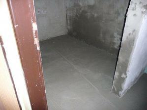 vylitá podlaha
