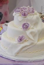 Niečo na tento štýl torta...