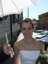 fotka speciálně pro mou paní zubařku, která mi 5 dní před svatbou sundala rovnátka