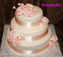 Pekna torta, ale trochu moc ruzova :-)