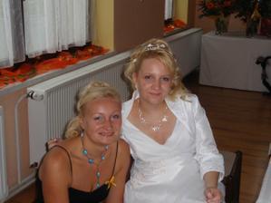 moje osobní řidička:) a super baba, moc mi pomohla, děkuji Terezko:-*