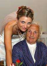 s mojí krásnou babičkou