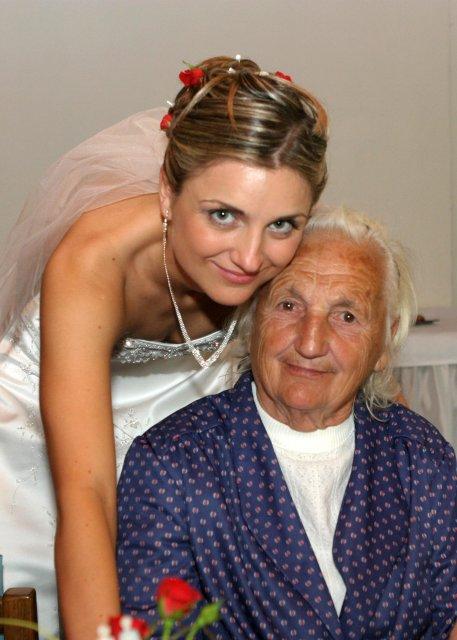 Lenka{{_AND_}}Milan - s mojí krásnou babičkou